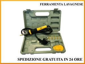 Pirografo Vigor in valigia con 5 pezzi V-PG/30 30 watt