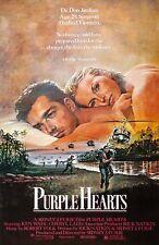 Purple Hearts movie poster : Cheryl Ladd : 11 x 17 inches  (1983)