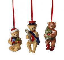 Villeroy & Boch Nostalgic Ornaments Teddy 3-teilig 6667 Teddies Hänger neu 2017