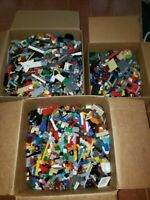Lego 1 to 50 Pound LB LBS Parts Pieces HUGE BULK LOT bricks blocks pound city