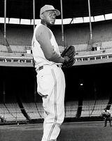Satchel Paige #3 Photo 8X10 - KC A'S 1965 B&W