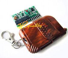 IC 2262/2272 4 CH Key 315MHZ Wireless Remote Control Receiver module arduino