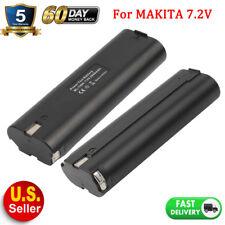2 NEW 7.2V Battery for MAKITA 7000 7002 7033 632003-2 632002-4 Cordless Tool HOT