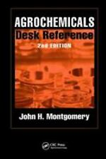 Agrochemicals Desk Reference Hardcover John H. Montgomery