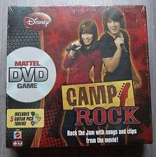 DISNEY CAMP ROCK GIOCO DVD con 5 Plettri! età 6+ Mattel Sigillato Nuovo di zecca!