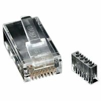 Startech.com Cat.6 Rj45 Modular Plug For Solid Wire - 50 Pack - Network