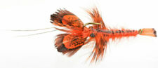 Fly Fishing Flies (Bass, Bream, Perch, Catfish) Softshell Crayfish Orange x 3