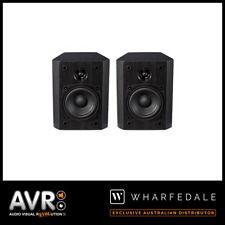 NEW Wharfedale Vardus VR-S1 Surround Bookshelf On Wall Speakers (PAIR) RRP $299