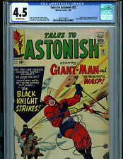 TalesTo Astonish #52 CGC 4.5 1964 1st Black Knight Marvel Amricons B12