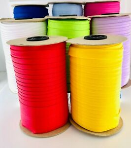 Cotton Bias Binding Rolls 16mm Wide Different Colours