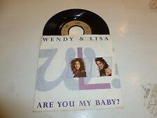 "WENDY & LISA - Are You My Baby? - 1989 German 2-track 7"" Juke Box Single"