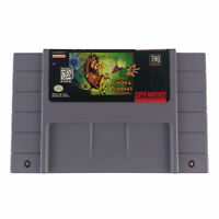 Disney's Timon & Pumbaa Jungle Games (SNES) Authentic Tested Works