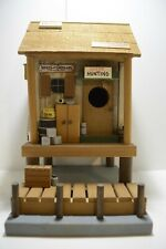 Wooden Duck Camp Creations Carlos Black hand crafted decorative bird house