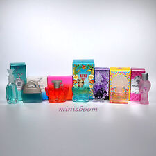 ANNA SUI Lot of 7 Mini Perfume Miniature for Women New in Box Travel Size