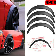 4Pcs 2 inch 50mm Universal JDM Fender Flare Widened Body Wheel Arch Car Fitting