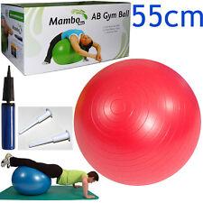 Msd PALLA PSICOMOTORIA ANTISCOPPIO 55cm + POMPA + 2 TAPPI pilates GYM SWISS BALL