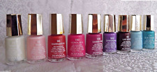 MAVALA Nail Polish Lot/9 MINI Colors Blue Pink Pearl Purple Red Maroon White NEW