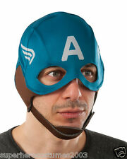 Captain America Winter Soldier Fabric Mask Marvel Comics Brand New Rubies 35686