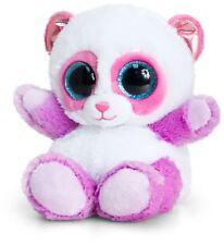 Keel Toys animotsu rosa y lila Panda Suave Juguete Animal De Peluche Marca Bn