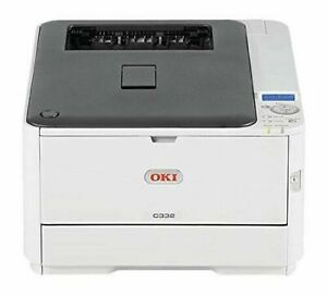 COLOUR LASER PRINTER OKI C332DN A4 - USED ONLY 1 MONTH, PERFECT CONDITION