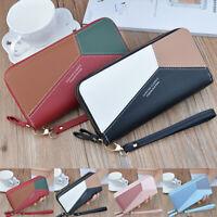 Girl Lady Women Leather Clutch Wallet Long Card Holder Case Purse Handbag Bag