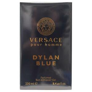 Versace Dylan Blue pour Homme Perfumed Bath & Shower Gel 250ml Boxed & Sealed