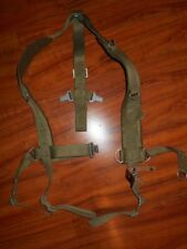 POLISH PEOPLE'S ARMY WEBBING SUSPENDERS NEW OLD STOCK