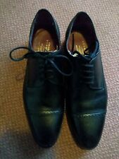 CHARLES TYRWHITT BLACK LEATHER ENGLISH MADE OXFORD SHOES UK8.5 GOOD CONDITION