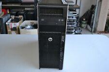 HP Z620 Workstation Xeon E5-2609 2.40GHZ Quad Cores 16GB RAM 500 GB Quadro K600