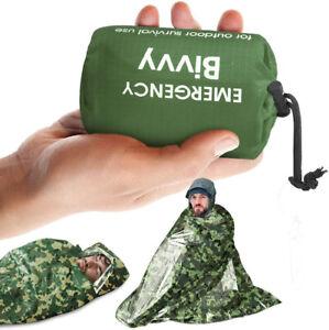 Emergency Sleeping Bag Survival Waterproof Blanket Bivvy Bag Camping Outdoor