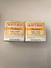 (2) Burt's Bees Radiance Night Cream with Royal Jelly, 2.0 oz each