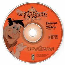 Flintstones Family Fun Pack (Age 3-10) (CD, 1995) for Win/Mac - NEW CD in SLEEVE