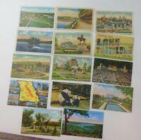 Vintage Postcards MISSOURI Lot of 33