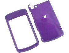 Purple Hard Plastic Phone Protector Case Cover For Motorola Stature i9