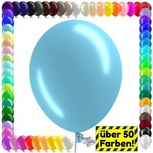 Luftballons Luftballon Bio Ø 27 cm Premium GROSSE FARBWAHL Stückzahl frei Helium