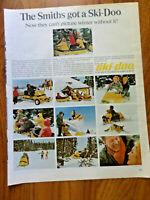 1966 Ski-Doo Snowmobile Ad Smiths got a Ski-Doo Bombardier