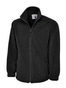 Work Wear Embroidered Fleece Jacket. YOUR FULL CUSTOM LOGO INCLUDED!
