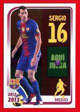 FC BARCELONA 2012-2013 Panini - Figurina-Sticker n. 93 - SERGIO -New