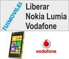 Liberar Nokia lumia 610 710 810 500 600 700 800 Vodafone solo 8 digitos