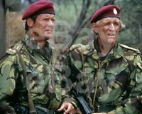 The Wild Geese (1978) Roger Moore, Richard Harris 10x8 Photo