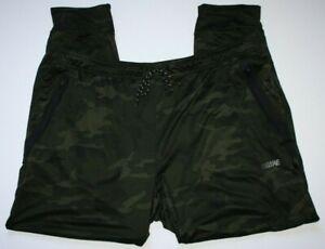 American Eagle FLEX Men's Camo Jogger Green Size XXXL Pants Logo Band Pockets