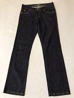 EDUN Women's JeanS SZ 27 Dark Wash Straight PERFECT Measured 28x29