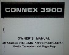 connex 3900 ricetrasmettitore cb mobile manuale operativo su carta formato a4