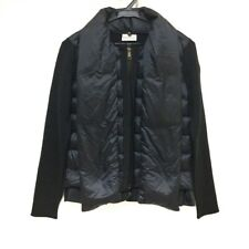 Auth MONCLER Black MAGLIONE TRICOT CARDIGAN Womens Cardigan #XS