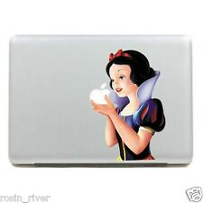 BIANCANEVE CARTOON Decalcomania Sticker Macbook Pro 13 FUNNY MAC BOOK AIR Laptop Skin