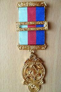 Masonic Jeweled Medal Deo Regi Fratribus Honor Fidelitas Benevolentia
