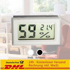 1 Stück Digital LCD Hygrometer + Thermometer Hydrometer Feuchte-messer
