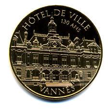 56 VANNES Hôtel de Ville, 130 ans, 2016, Monnaie de Paris