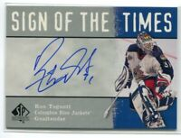 2000-01 SP Authentic Sign of the Times RT Ron Tugnutt Auto