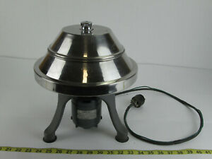 Vintage Ivan Servall Angle Centrifuge NSE 500 RPM w/ Rotor and 10 Cat 503 Tubes